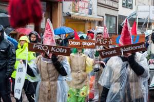 PRO Köln, Pegida, Front Natoinal, Orban Ungarn