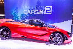 Project CARS 2 Kulisse - Gamescom 2017, Köln