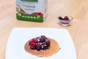 Protein Pancakes made with Sunwarrior Warrior Blend
