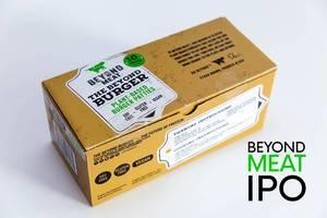 Proteinreiche und vegane Beyond Meat Burger, für eine glutenfreie Ernährung ohne Soja, sorgen dank Hype um LIDL-Verkauf für bestes IPO seit 2000
