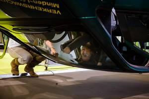 Prüfungsstelle der Deutschen Verkehrs Wacht  bei der IAA 2017 an