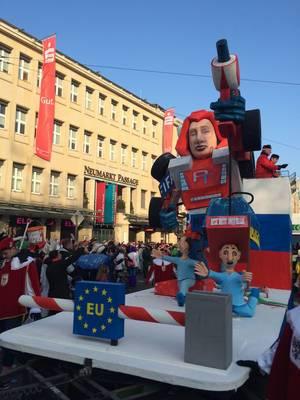 Putinator Wagen (Vladimir Putin)