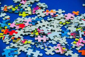 Puzzle Pieces in Disorder