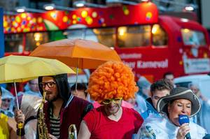 Querbeat am Kölner Karneval 2016