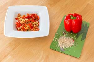 Quinoa mit Paprika