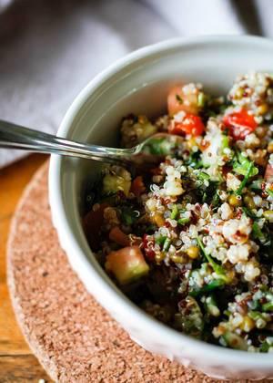 Quinoa Salad close-up