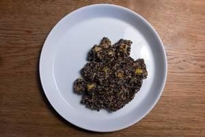 Quiona-Mango-Apfel-Salat bei temma