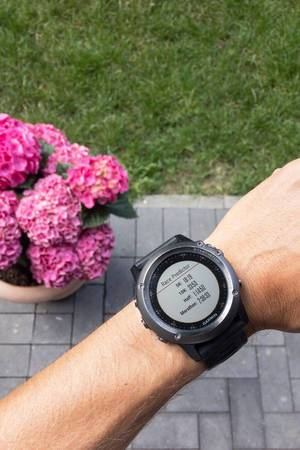 Race Predictor with Garmin Fenix3
