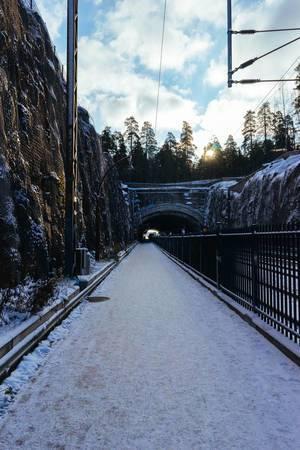Railroad tunnel / Eisenbahntunnel