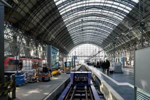 Railway station in Frankfurt / Frankfurt Bahnhof