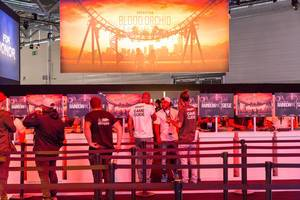 Rainbow Six Siege Operation Blood Orchid Gaming-Ecke - Gamescom 2017, Köln
