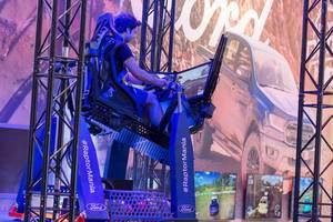 Raptor Mania Geländewagen-Simulator von Ford auf der Gamescom