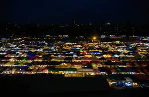 Ratchada Rot Fai Nacht MArkt in Bangkok