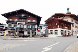 Rathaus in Reit im Winkl, Austria. Town hall (Flip 2019)