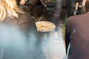 Raucherlounge am Helsinki-Flughafen