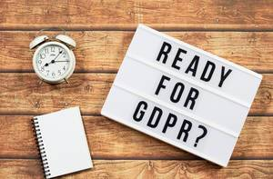 Ready for GDPR text in lightbox