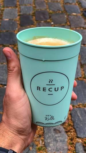 RECUP Mehrweg-Pfandsystem Kaffeebecher