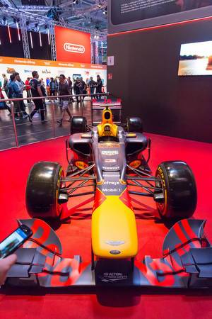 Red Bull Formula 1 racing car - Gamescom 2017, Cologne