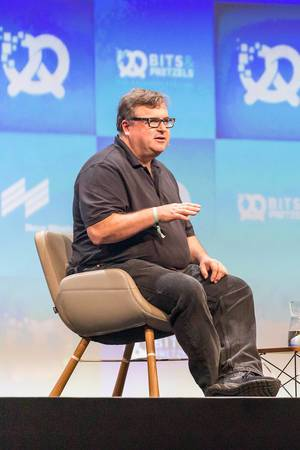 Reid Hoffman Co-Founder and executive chairman of LinkedIn during interview and talk about fear of technological progress