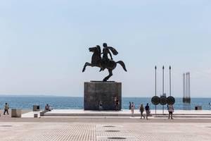 Reiterstatue von Alexander dem Großen