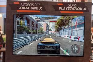 Rennspiel für Xbox One X und Playstation 4