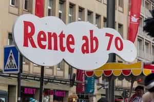 Rente erst ab 70 - Kölner Karneval 2018