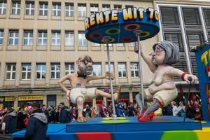 Rente mit siebzig - Kölner Karneval 2018