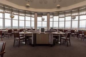 Restaurant mit Rundumblick vom Select Hotel Spiegelturm Berlin - Spandau