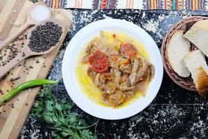 Rezept mit grünen Bohnen aus der griechischen Küche
