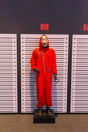 Rios Kostüm aus der Netflix Original Serie