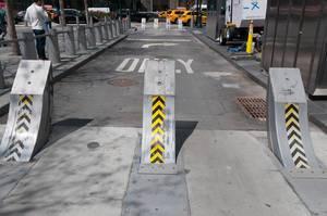 Road barrier @ 9/11 Memorial