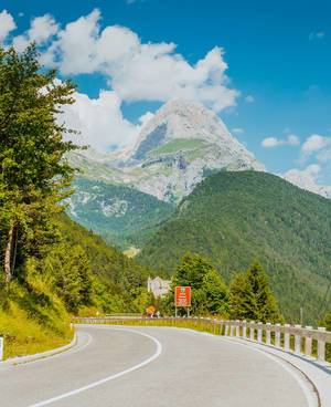 Road to Bovec
