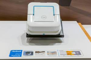 Robotic Mop for smart house cleaning: Robot 250 Braava jet