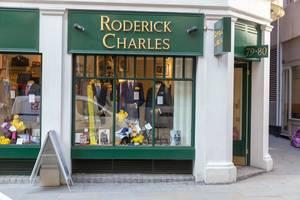 Roderick Charles Geschäft in London