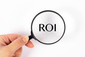 ROI under magnifying glass