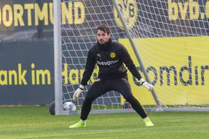 Roman Bürki als Dortmunds Nummer 1 im Tor erwartet einen Abschluss