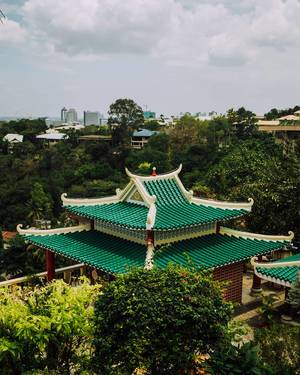 Roof of a Chinese shrine (Flip 2019)