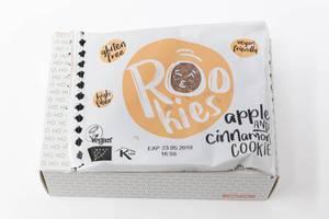 Rookies - Bio-Fruchtkeks mit Apfel und Zimt aus dem vierzehnten Türchen des veganen Foodist Active Adventskalender