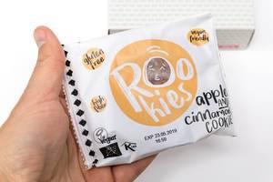 Rookies veganer Bio-Fruchtkeks mit Apfel und Zimt
