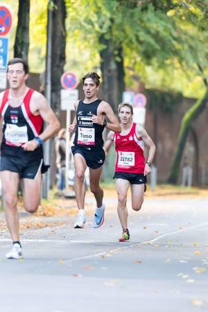 Röser Florian, Göhler Timo, Dillenhöfer Fabian - Köln Marathon 2017