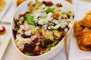 Rote Beete und Blauschimmelkäse - Salatmischung