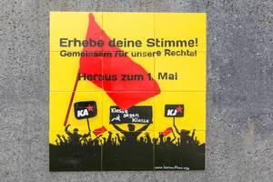 Roter 1. Mai - Aufruf des Kommunistischen Aufbaus zur Mai-Demonstration