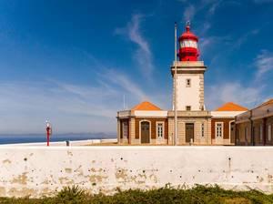 Roter Leuchturm zu Cabo da Roca