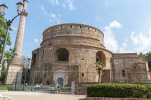 Rotònda Roman Temple in Thessaloniki