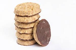 Round Chocolate Integral Biscuits (Flip 2019)