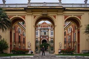 Royal Palace Museum in Genova, Italy / Königspalastmuseum in Genua, Italien