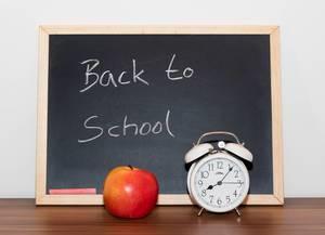 Rückkehr in die Schule Symbolbild