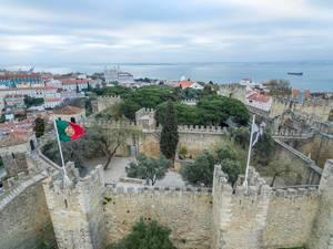 Ruins of Castelo de São Jorge
