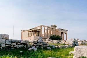 Ruins of the temple of Erechtheion (Flip 2019)