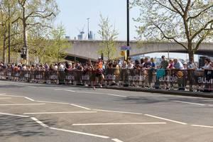 Runner Daniel Wallis - London Marathon 2018